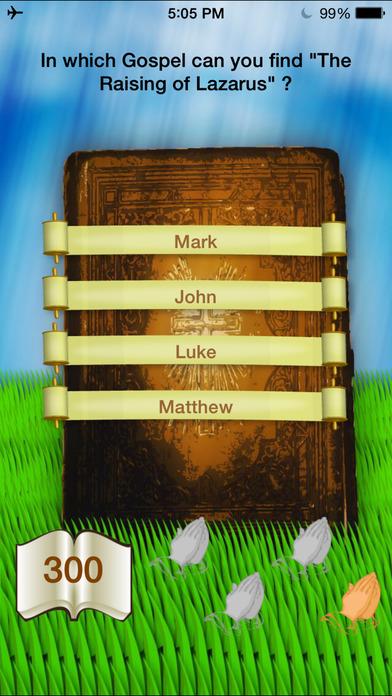 Jesus's Bible Quiz iPhone Screenshot 4