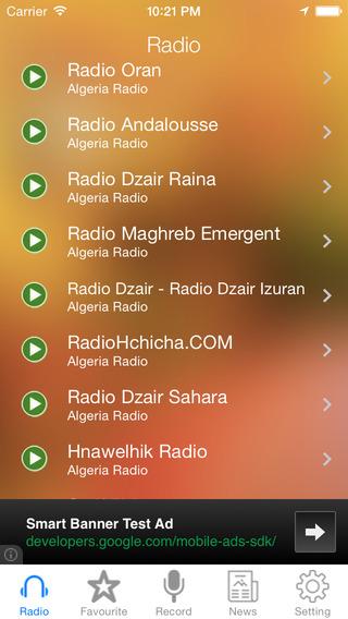 Algeria Radio News Music Recorder