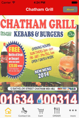 Chatham Grill screen