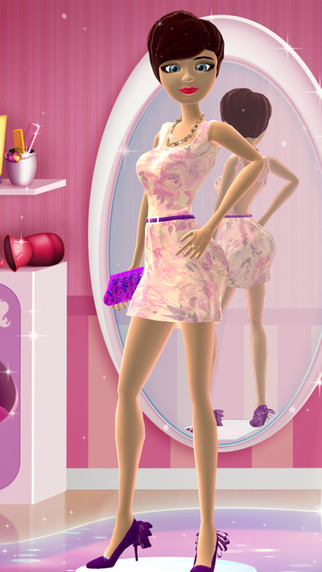 Dress Up and Hair Salon Game for Girls: Teen Girl Fashion Makeover Games