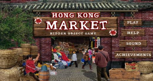 Hong Kong Market - Free Hidden Object Games