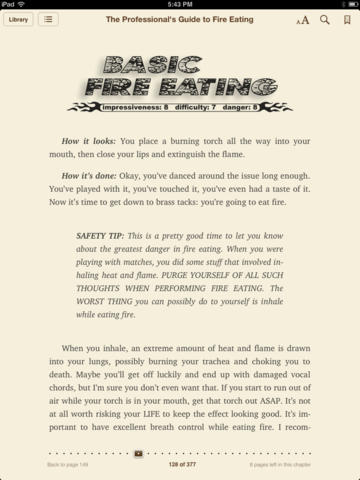 The Professionals Guide to Fire Eating