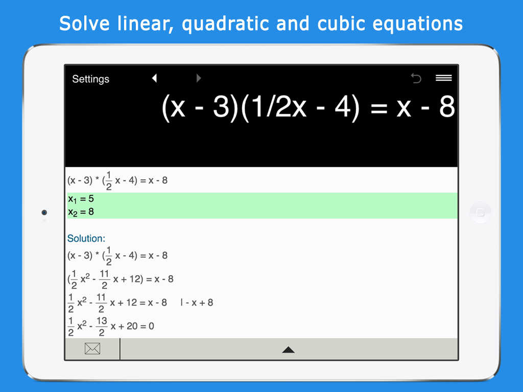 how to solve cubic equations ti-84