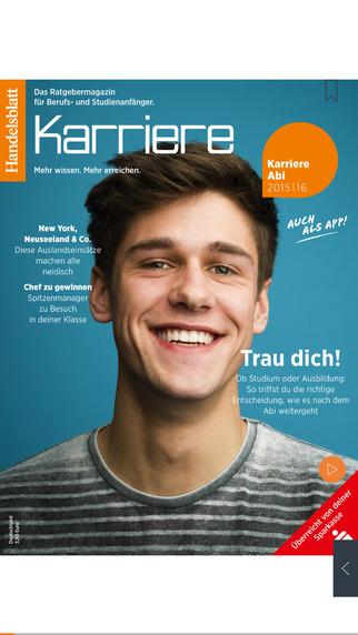 Handelsblatt Karriere Abi