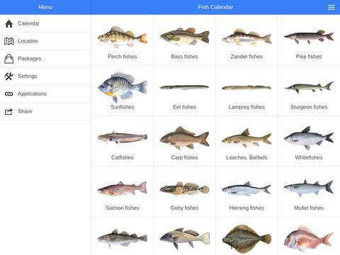 график клева рыбы киров