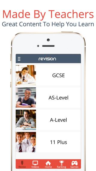 Revision App - Tutor Videos Revision Guides: GCSE A-Level 11 Plus App