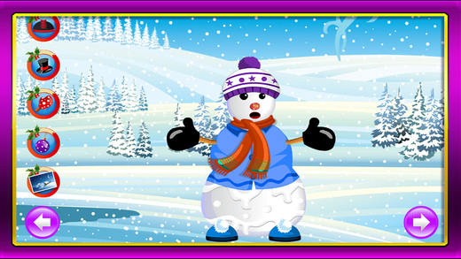 Snowman Crafts Saloon Maker: A Frosty iceman Builder Kit game for Kids PRO
