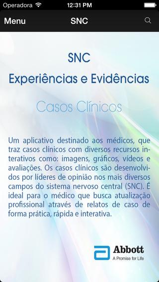 Casos Clínicos - SNC Iphone version
