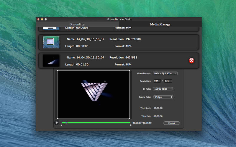 Screen Recorder Studio Free Screenshot - 5