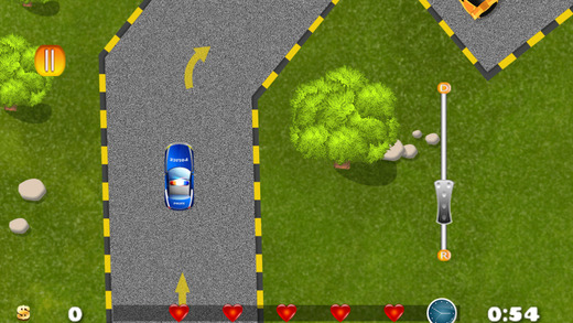 Awesome Police Car Parking Mania - best motor driving skill game