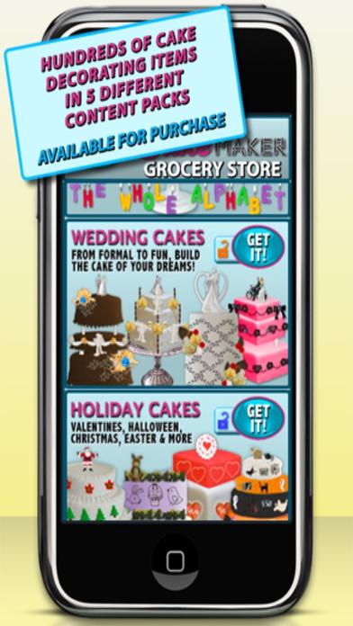 Cake Maker - Free iPhone Screenshot 2