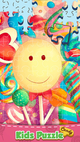 Candy Puzzle - Jigsaw Game