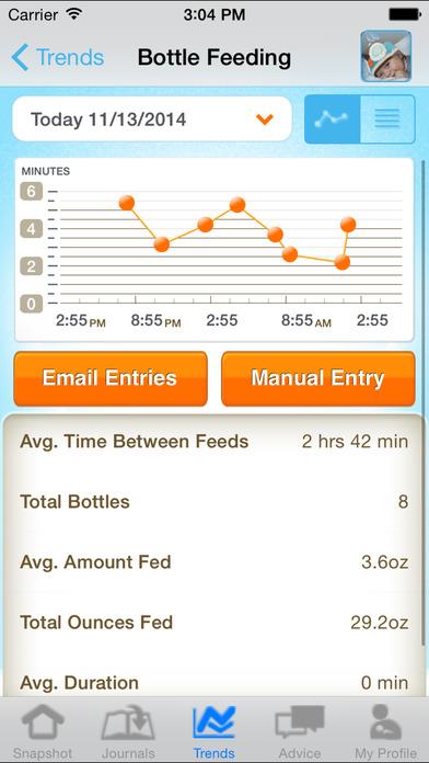 Similac Baby Journal iPhone Screenshot 3