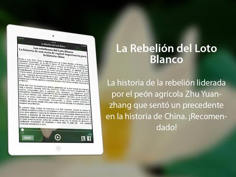 La Rebelión del Loto Blanco: hacia la defensa del pueblo iPad Screenshot 1