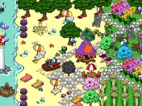 Скачать Андроид игру Smurfs' Village Взлом/MOD на Телефон и Планшет (Д