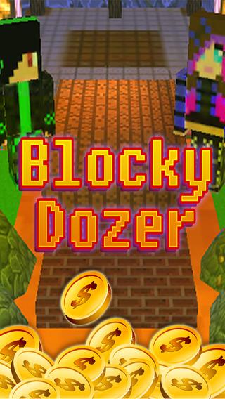 Blocky Dozer - 8-Bit Coin and Skins Mine Mini Game: Pocket Edition