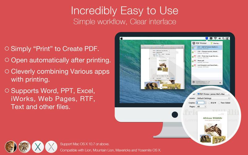 PDF Printer Lite Screenshot - 3