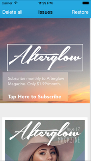 Afterglow Magazine