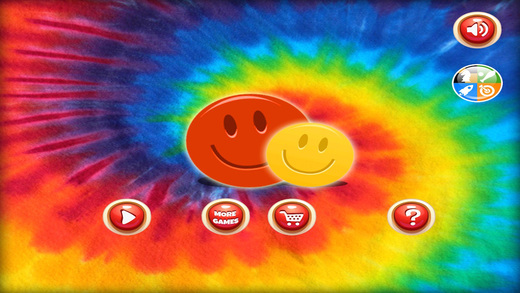 An Exploding Smiley Face Bubble Buster Game