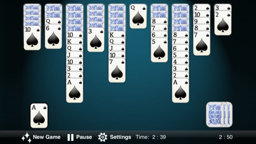 Spider Solitaire for spider windows game casual game