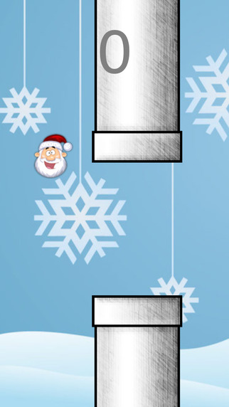 Jumpy Santa - Save Santa From The Ice Tubes