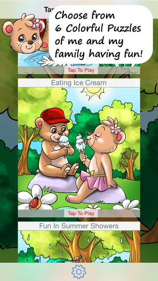 Treehoven Bear Family Activities Jigsaw Puzzles