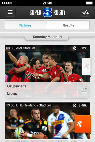 Super Rugby screenshot 2