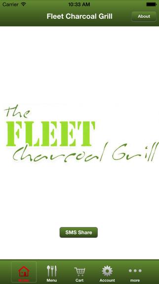 Fleet Charcoal Grill