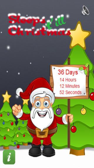 Sleeps t'ill Christmas Lite