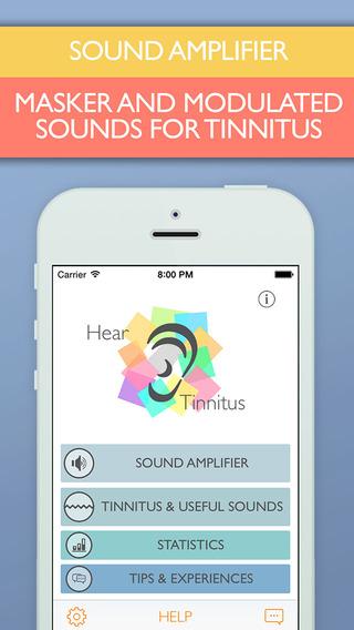 Hear Tinnitus - Sound Amplifier And Tinnitus Masker App