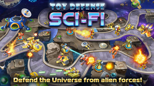 Toy Defense 4: Sci-Fi – strategy