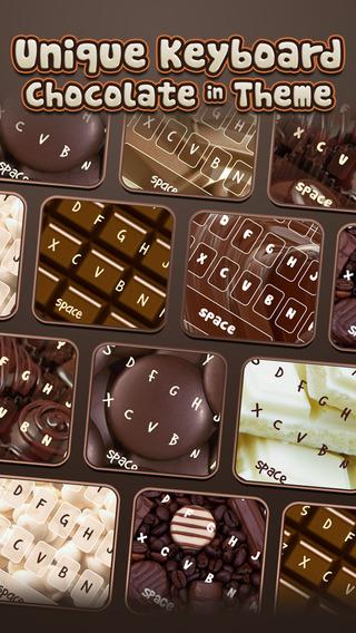 KeyCCM – Chocolate : Custom White Dark Themes Color Wallpaper Keyboard