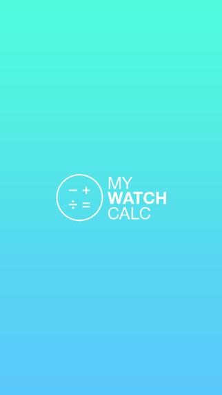 My watch calc