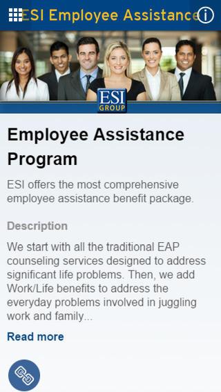 ESI Employee Assistance Program