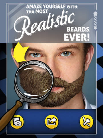Funny Beards - Grow the most realistic beard styles on anyone's face