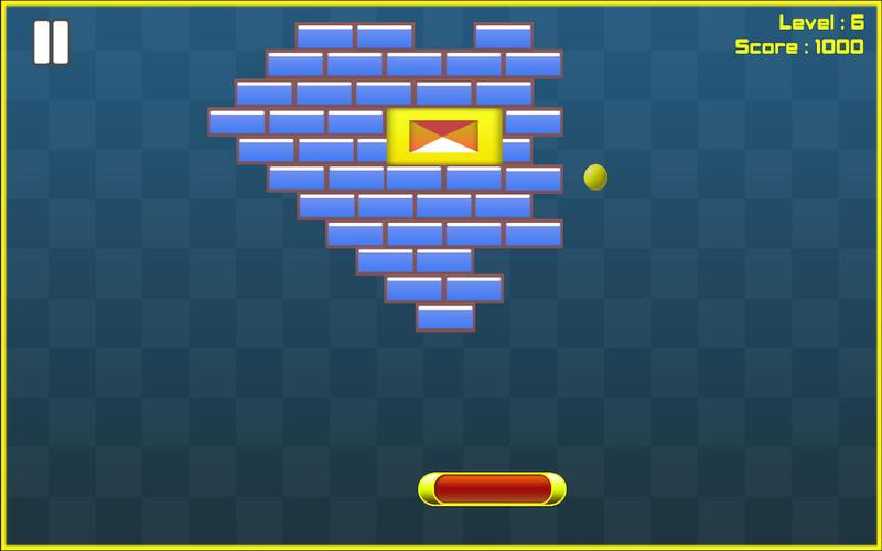 Bricks Breaker HD Free Screenshot - 4
