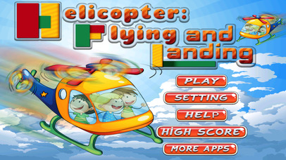 Helicopter Mission: Flying and Landing Pro screenshot 1