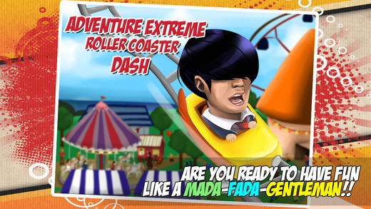 Adventure Extreme Roller Coaster Dash