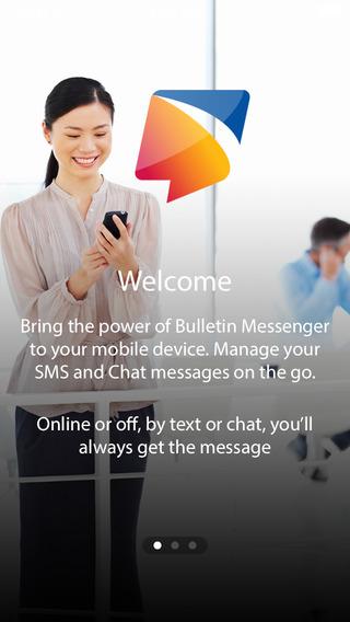 Bulletin Messenger - Better Mobile Messaging for B