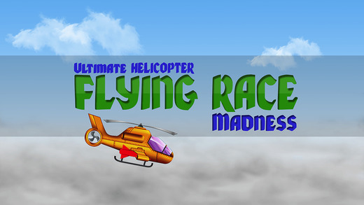 Ultimate Helicopter Flying Race Madness - top airplane racing arcade game