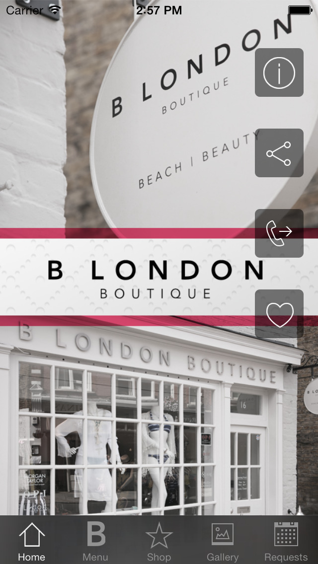 App shopper b london boutique ltd lifestyle for Adonia beauty salon