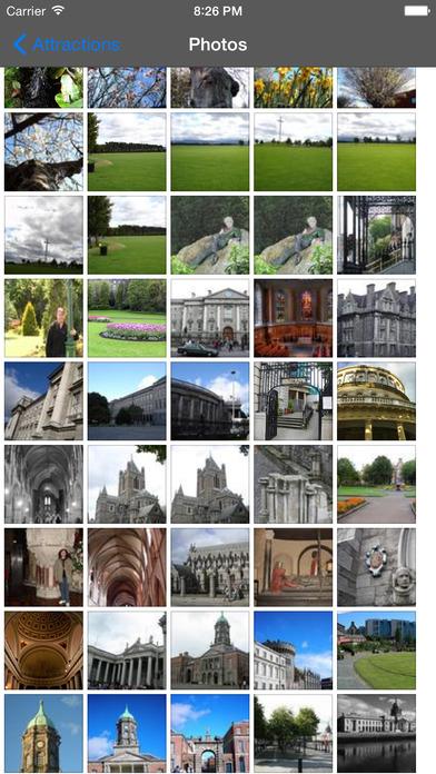 Dublin Travel Guide Offline iPhone Screenshot 1