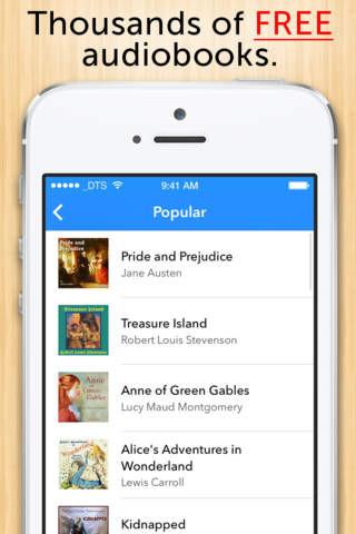 Audiobooks - Thousands of free Audiobooks and Podcasts. screenshot 1