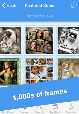 imikimi Photo Frames FREE for iPhone and iPad
