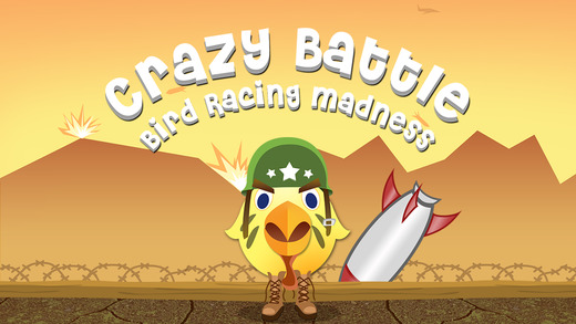 Crazy Battle Bird Racing Madness - amazing super b