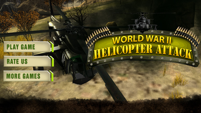 WW2 Helicopter Attack 3D