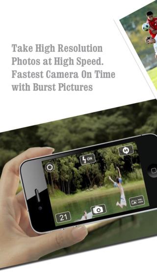 FastPix - Fast Camera + Burst Mode Camera Photos