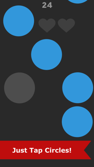 Rain Circles: Tap it quickly