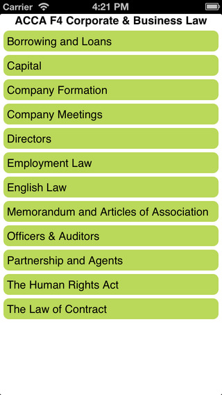 ACCA F4 Corporate Business Law ENG