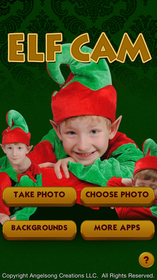 Elf Cam - Make Christmas Elf Pictures and Memes.